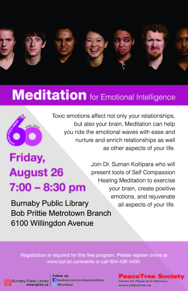 Meditation for emotional -Metrotown