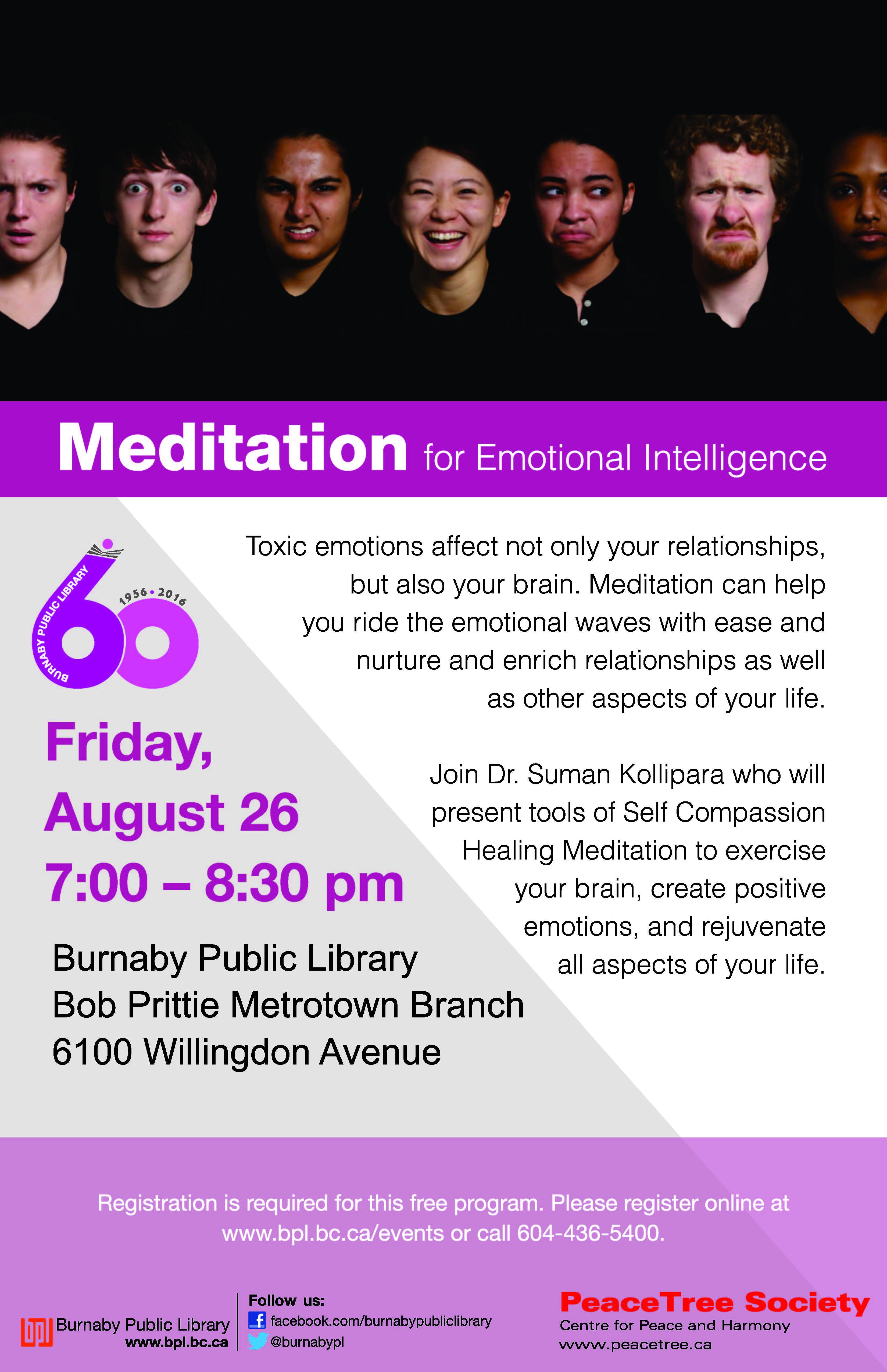 Meditation for emotional -Metrotown
